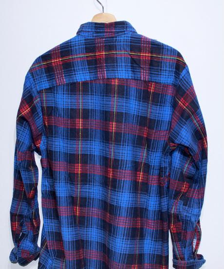 Rebuild by Needles:Ribbon Flannel Shirt - M size #43