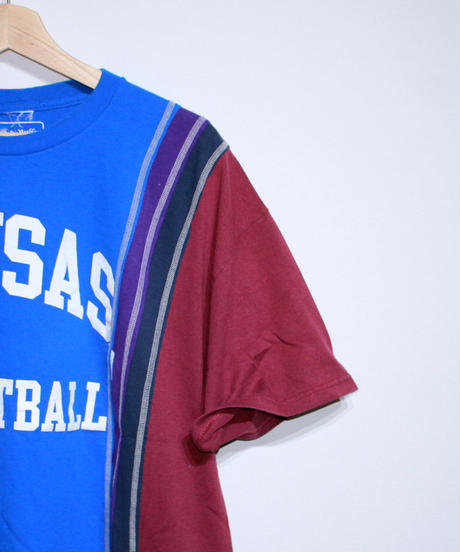Rebuild by Needles:7 Cuts S/S Tee College Wide Type #38 #39