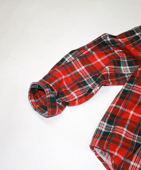 Rebuild by Needles:Ribbon Flannel Shirt - M size #42