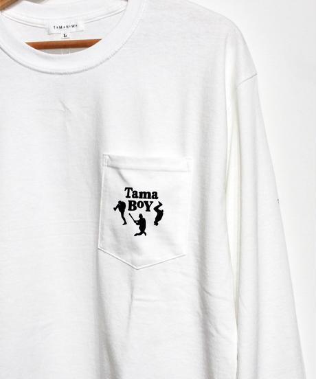 TAMANIWA: TAMA BOY Longsleeve Tee