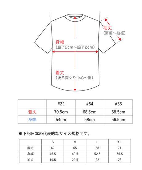 TAMANIWA:MLB half remake tee #22 , #54 , #55
