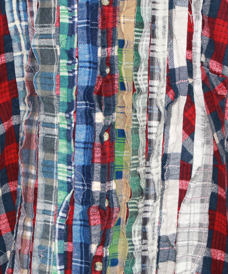 Rebuild by Needles:Ribbon Flannel Shirt - XL size #64