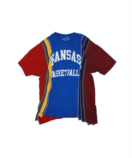 Rebuild by Needles:7 Cuts S/S Tee College Wide - onesize #39