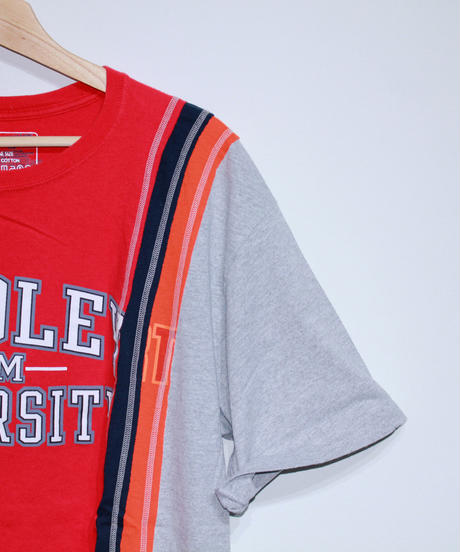 Rebuild by Needles:7 Cuts S/S Tee College WIDE Type #34  #35