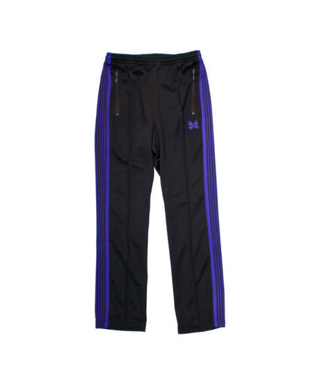 Needles:NARROW TRACK PANT - POLY SMOOTH  CHARCOAL