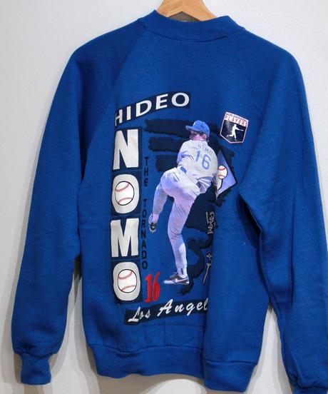 deadstock:Los Angeles Dodgers #16 HIDEO NOMO  kids long sleeve sweat  #17