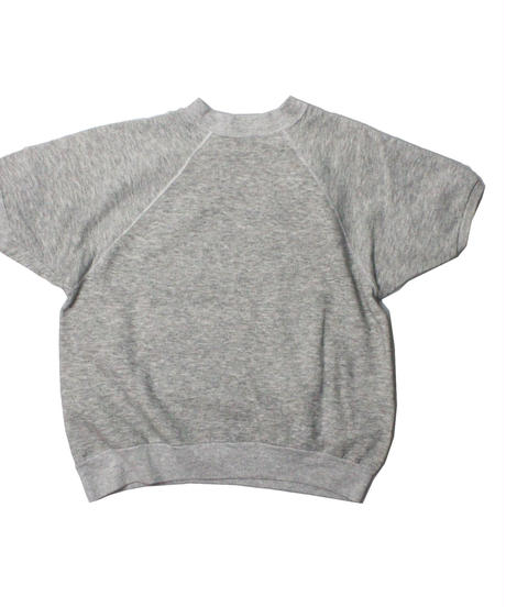 COPY CAT   -  OLD SHORT SLEEVE SWAET COMPOSER GREY ①- size ASORT