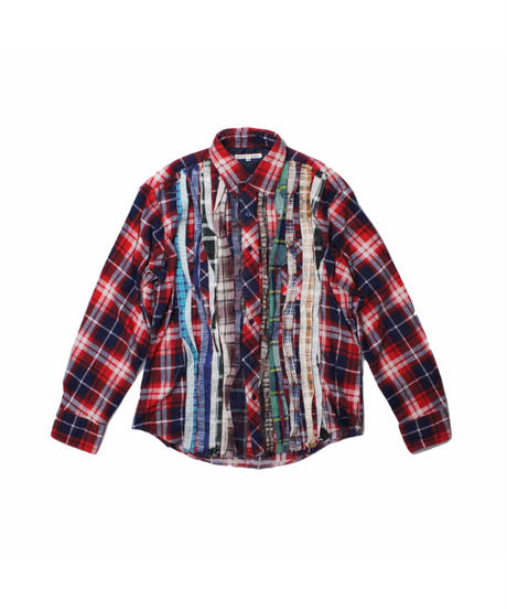 Rebuild by Needles:Ribbon Flannel Shirt - M size #4