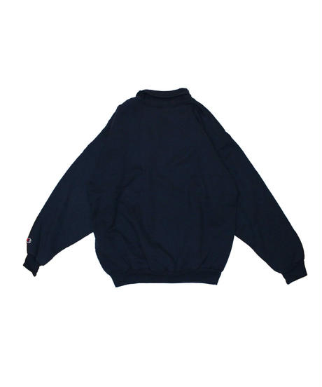 COPY CAT:Old Sweat Moc neck - Navy