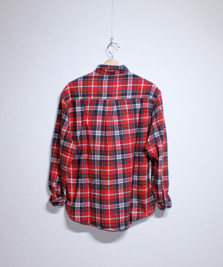 Rebuild by Needles:Ribbon Flannel Shirt - M size #42