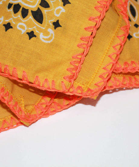 INFIELDER DESIGN:Stitch Bandana - YELLOW