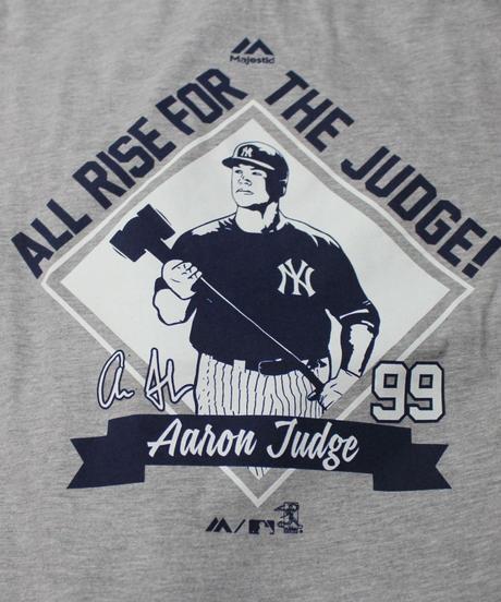 Majestic NYY Aaron Judge TEE  #99 ①