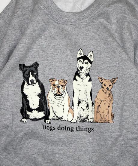 TAMANIWA:DOGS sweatshirt