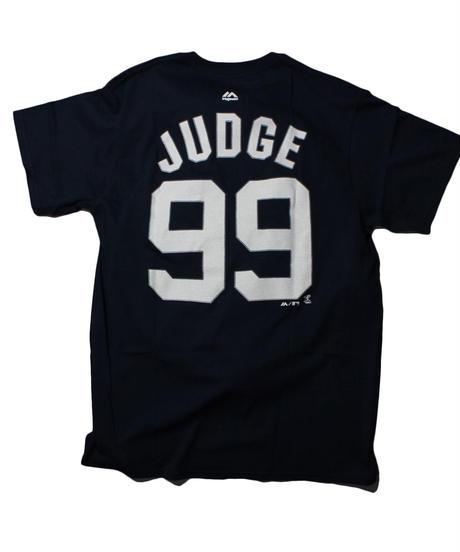 Majestic NYY Aaron Judge TEE  #99 ⑤