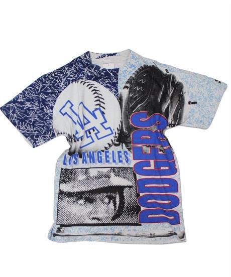 used:Los Angeles Dodgers print tee -one size