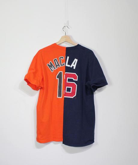 TAMANIWA:MLB half remake tee # 33  #49  #50