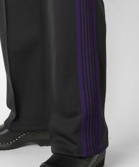 Needles:TRACK PANT - POLY SMOOTH BLACK