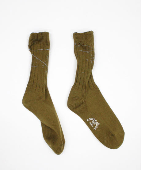 ROSTER SOX:PAINT SOCKS - COLOR (RS-202)