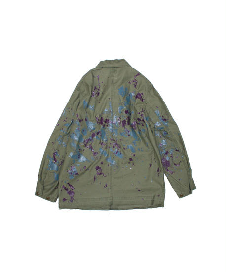 Needles:D.N. COVERALL - BACK SATEEN / PAINT