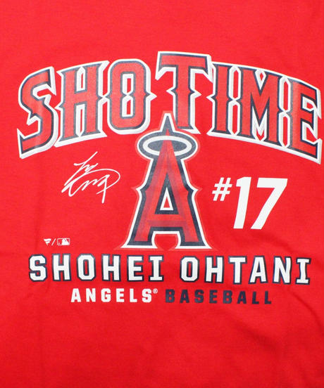 majestic Los Angeles Angels  - SHOTIME TEE #17 OHTANI