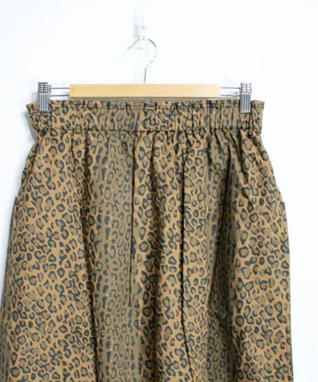 South2 West8:21FW ARMY STRING SKIRT  - LEOPARD