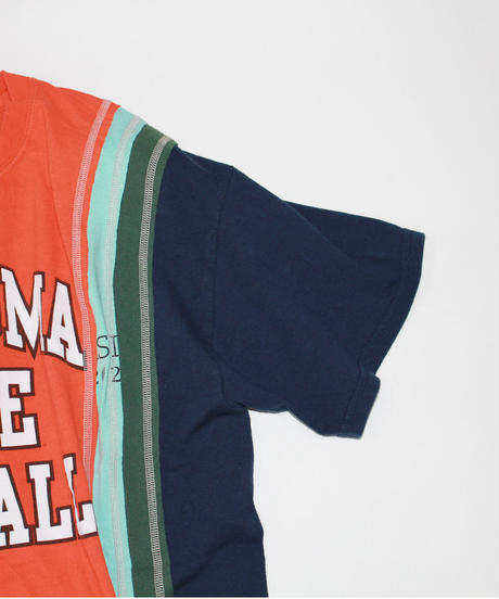Rebuild by Needles:7 Cuts S/S Tee College - L size #29