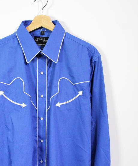 White horse piping shirts -L size