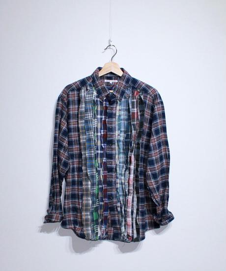 Rebuild by Needles:Ribbon Flannel Shirt - L size #52