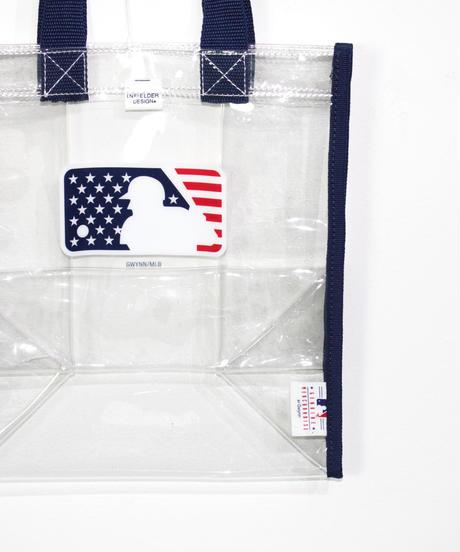 INFIELDER DESIGN:MLB CLEAR TOTE