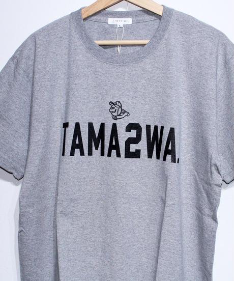 TAMANIWA: TAMA2WA short sleeve tee