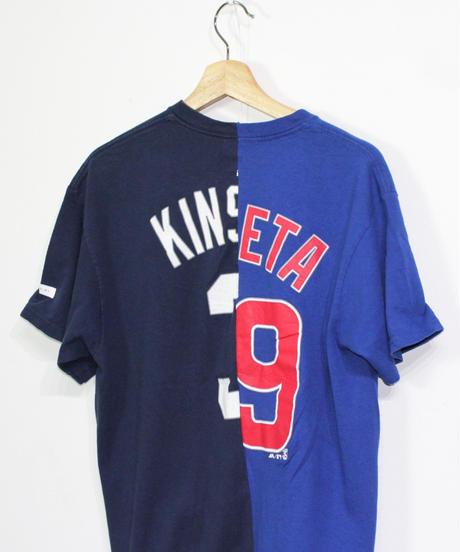 TAMANIWA:MLB half remake tee #65 #66 #67