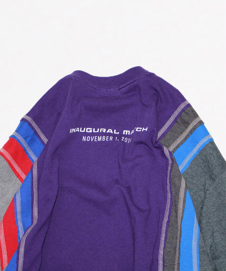 Rebuild by Needles:7 Cuts long sleeve Tee College #15
