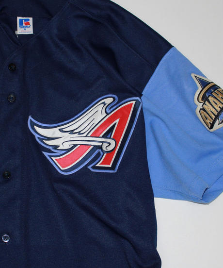 used:Russell Athletic Anaheim Angels Jersey -  52 size