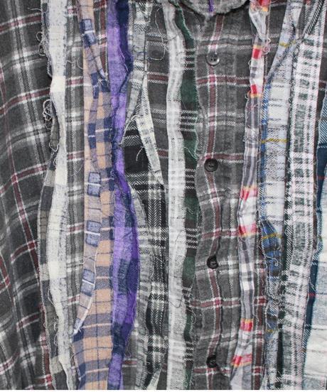 Rebuild by Needles:Ribbon Flannel Shirt - XL size #59