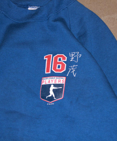 deadstock:Los Angeles Dodgers #16 HIDEO NOMO  kids long sleeve sweat  #17