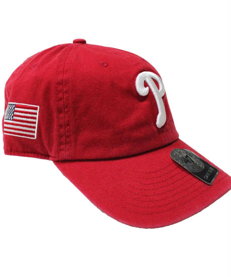 47brand:CLEAN UP  USA FLAG TEAM LOGO CAP  #1