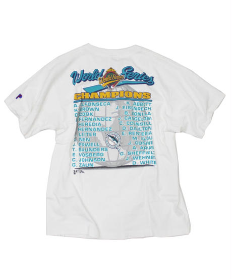 used:Florida Marlins 97's World champion tee - L size