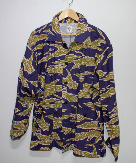 South2 West8:HUNTING SHIRT FLANNEL PT.  - TIGER