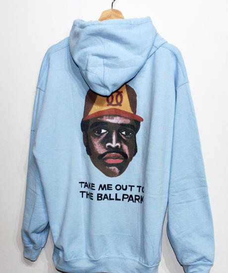 TAMANIWA:ball park  Hoodie Sweat - back print  logo (TONY)