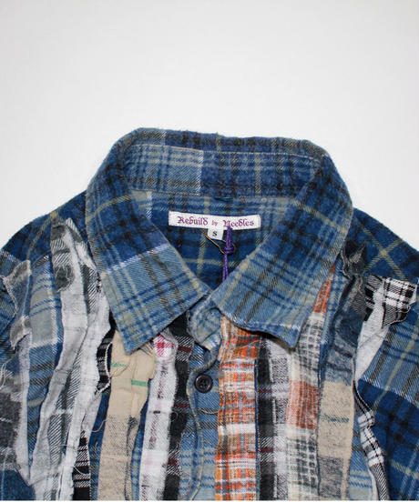 Rebuild by Needles:Ribbon Flannel Shirt - S size #39