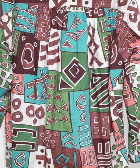 AiE :Painter Shirt - Cotton Art Block Check Print
