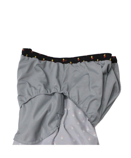 Needles - Swim Short  Nylon Tussore ( dk.brown / navy )