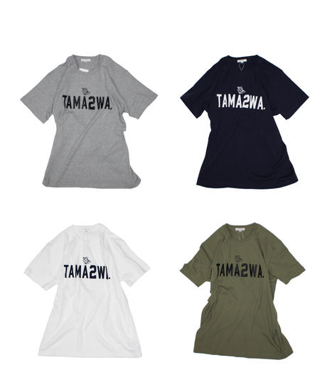 TAMANIWA: TAMA2WA short sleeve tee