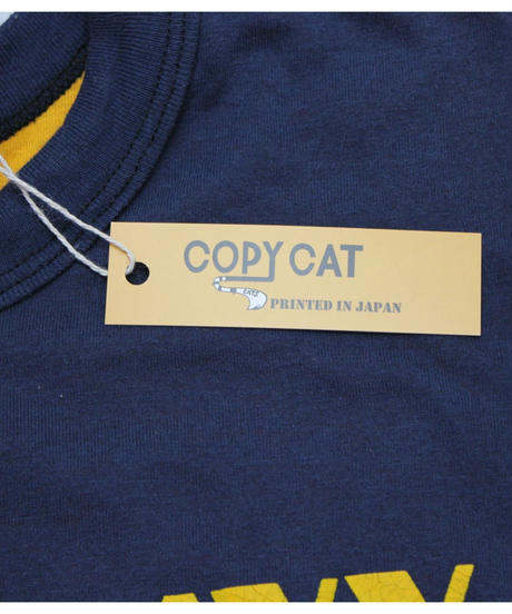 COPY CAT   -コピーキャット-  OLD SHORT SLEEVE Reversible T -size M -