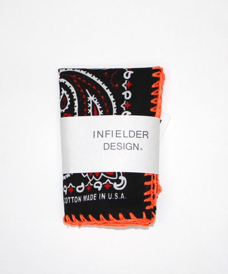 INFIELDER DESIGN:Stitch Bandana - BLACK