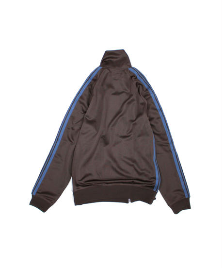 Needles:TRACK JACKET  POLY SMOOTH - BROWN