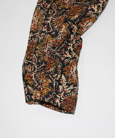 South2 West8:STRING SLACK PANT - PRINTED FLANNEL PAISLEY