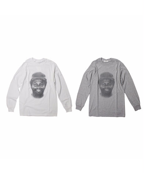 TAMANIWA:PLAYER  Longsleeve Tee - white/grey
