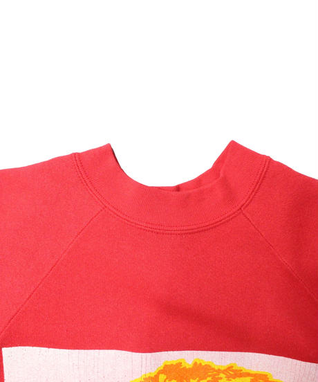 COPY CAT  OLD SHORT SLEEVE SWAET COMPOSER RED ① size ASORT
