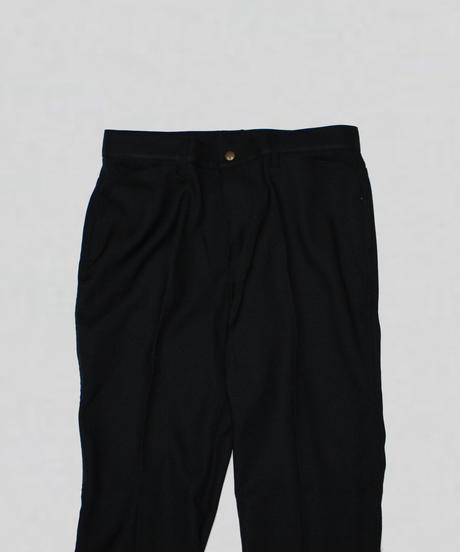 Needles : BOOT-CUT JEAN - POLY TWILL - Black